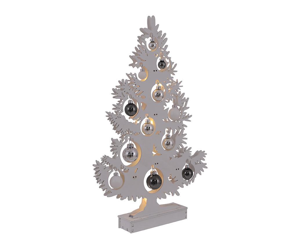 Decoratiune luminoasa Christmas Spirit Tree White imagine