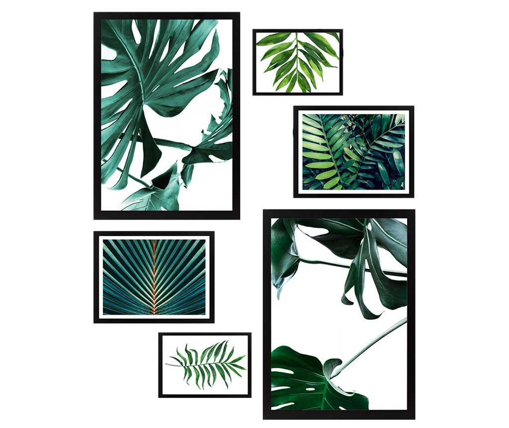 Set 6 tablouri Natural Green vivre.ro