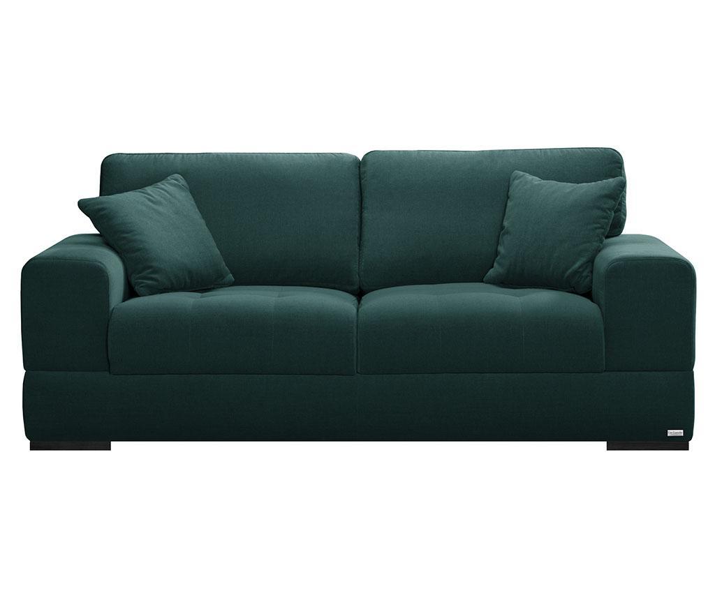 Canapea 3 locuri Passion Dark Green - Guy Laroche Home, Verde
