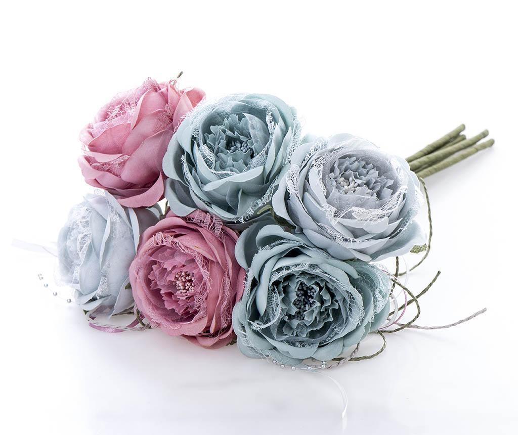 Buchet flori artificiale Geneva imagine