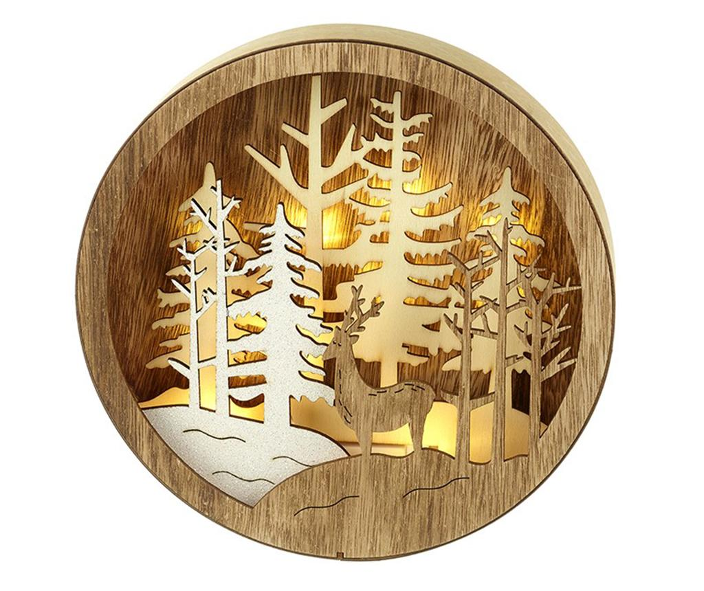 Decoratiune luminoasa Nocturnal Forest Scene imagine