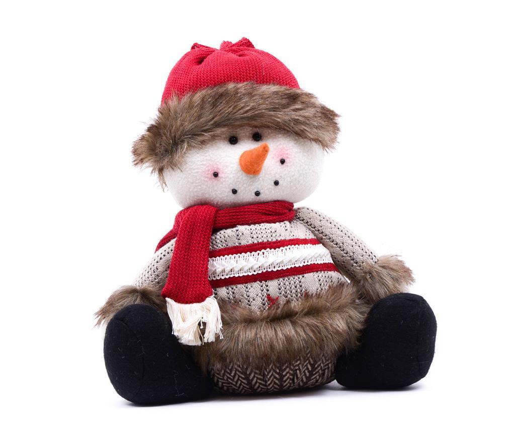 Decoratiune Snowman with Scarf imagine
