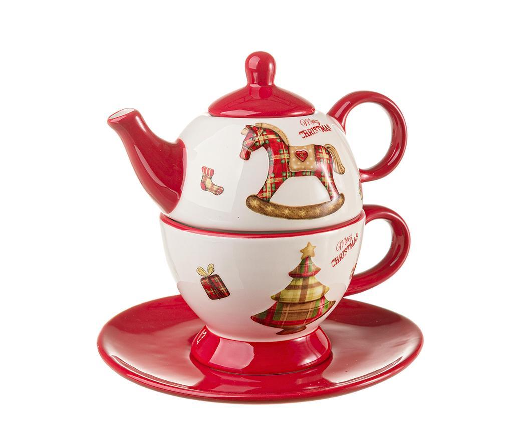Set ceainic cu ceasca si farfurioara Craft imagine