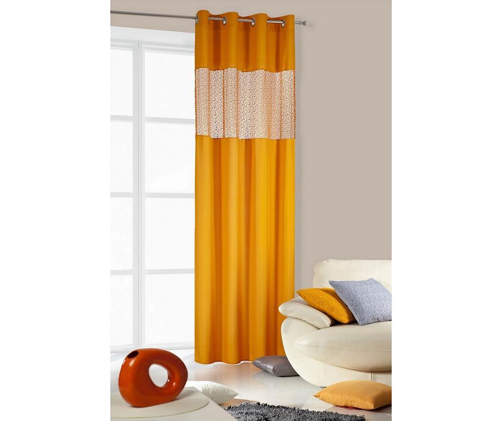 Draperie Lily Orange 140x250 cm