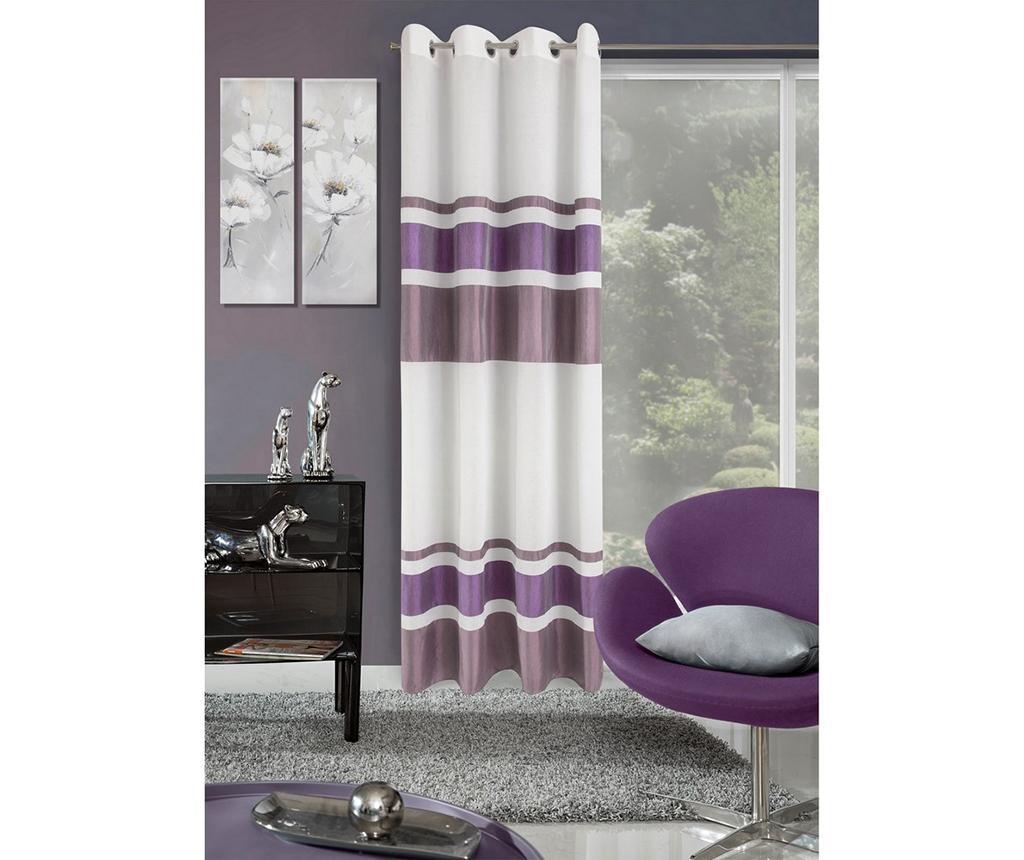 Draperie Shirley Purple 140x250 cm
