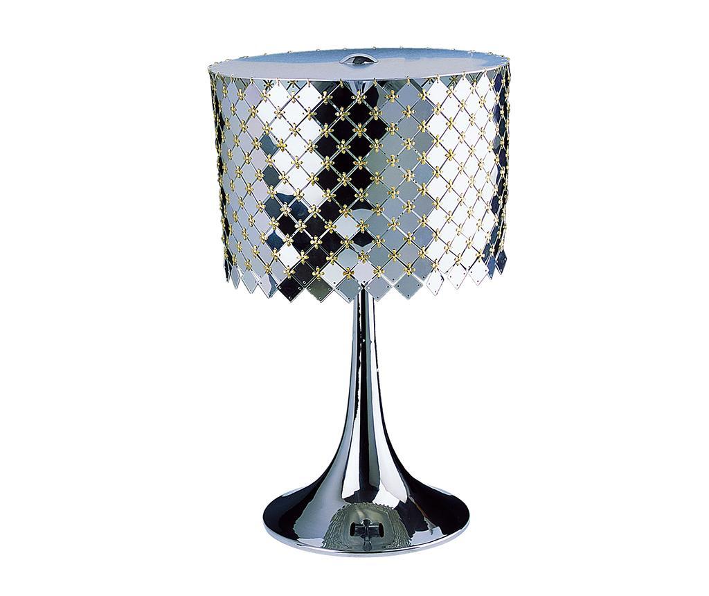 Lampa Llantia - Tiffan y Luz, Gri & Argintiu imagine