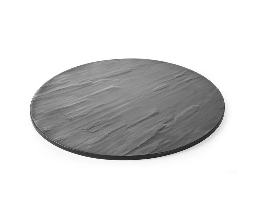 Platou Hendi Black Round imagine