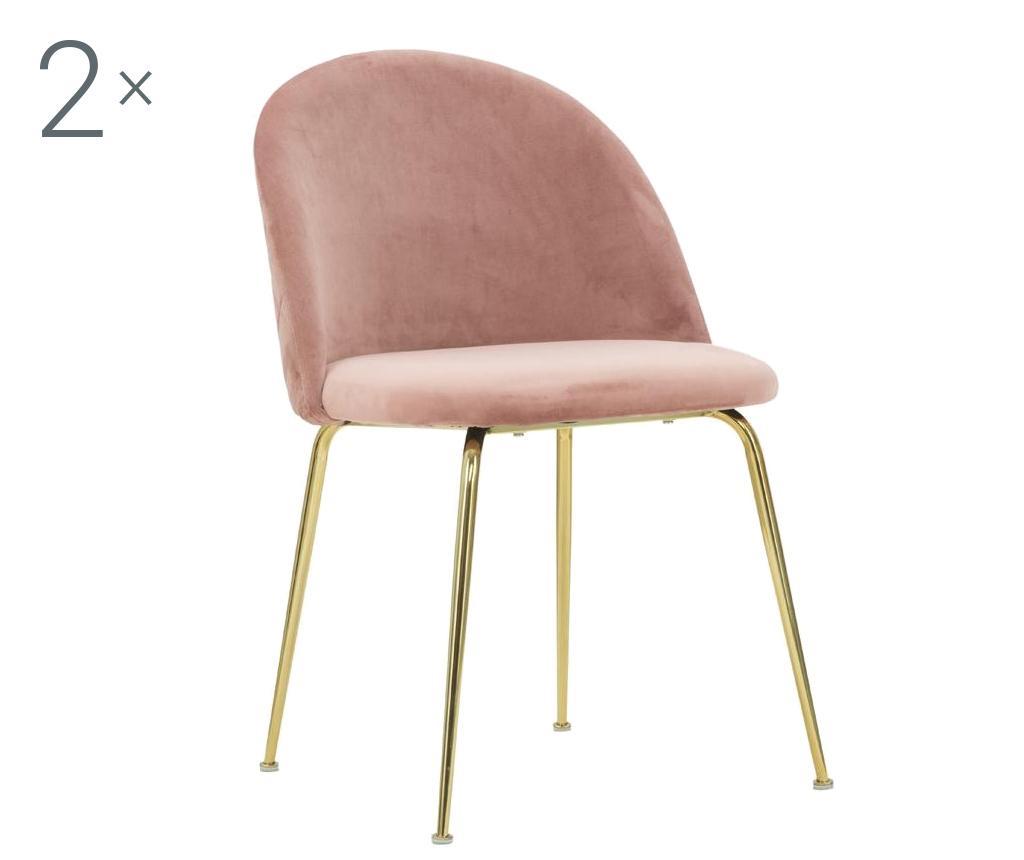 Set 2 scaune Luxury Rose vivre.ro