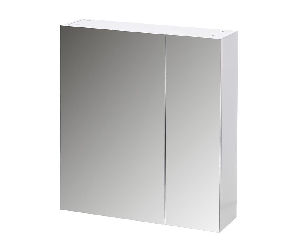 Cabinet cu oglinda Newton - Casa Selección, Alb imagine