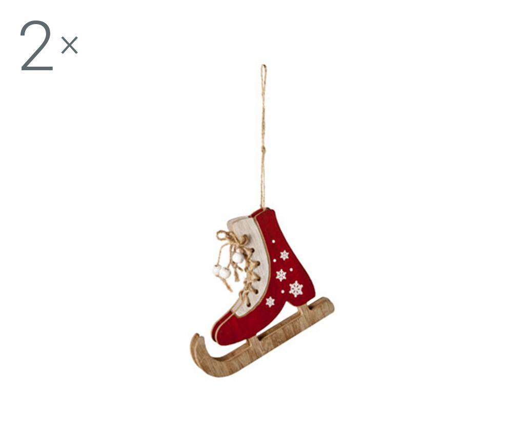 Set 2 decoratiuni suspendabile Skate Away M