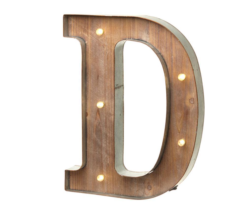 Decoratiune luminoasa Letter D imagine