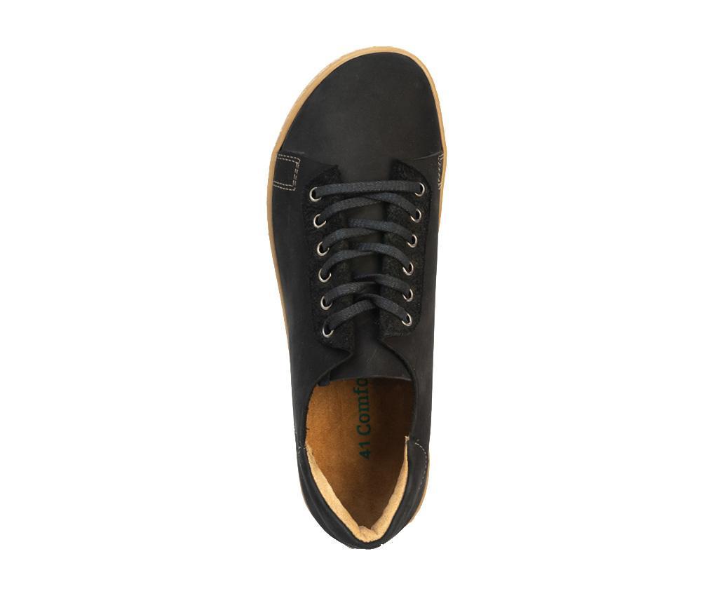 Pantofi sport barbati Ozi Nubuck Black 42