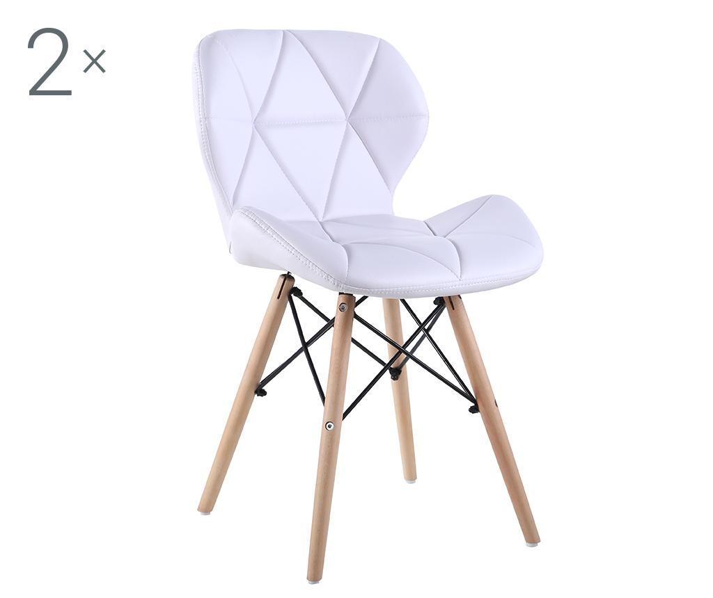 Set 2 scaune Alia White de la Unic Spot