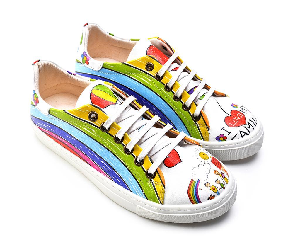 Pantofi sport dama Rainbow 38 - Goby, Multicolor poza