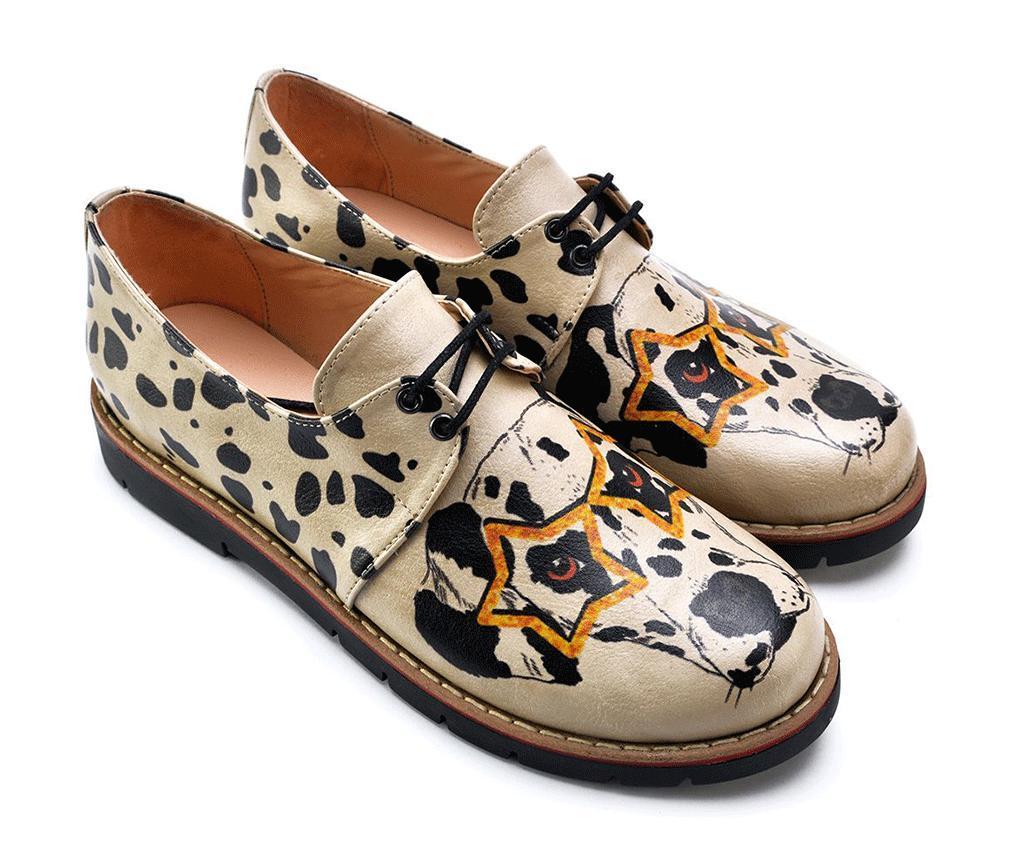 Pantofi dama Dalmatian Dog 37