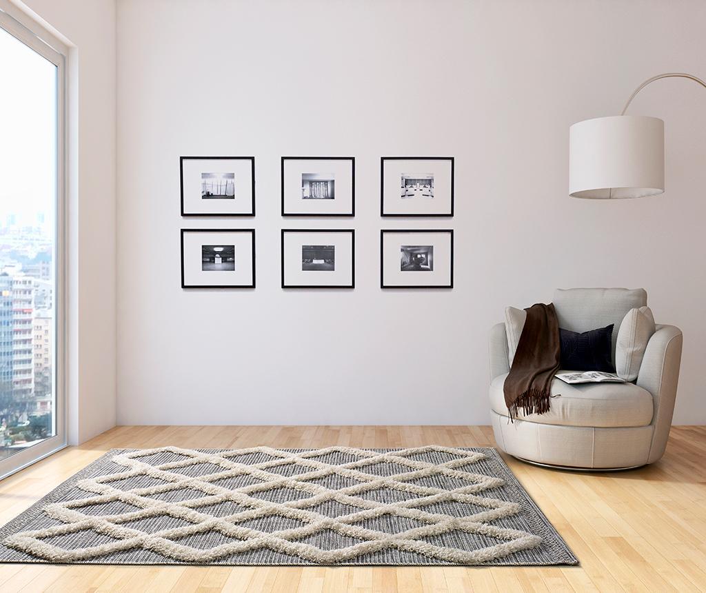 Covor Cheroky White Diamond 155x230 cm - Universal XXI, Alb imagine