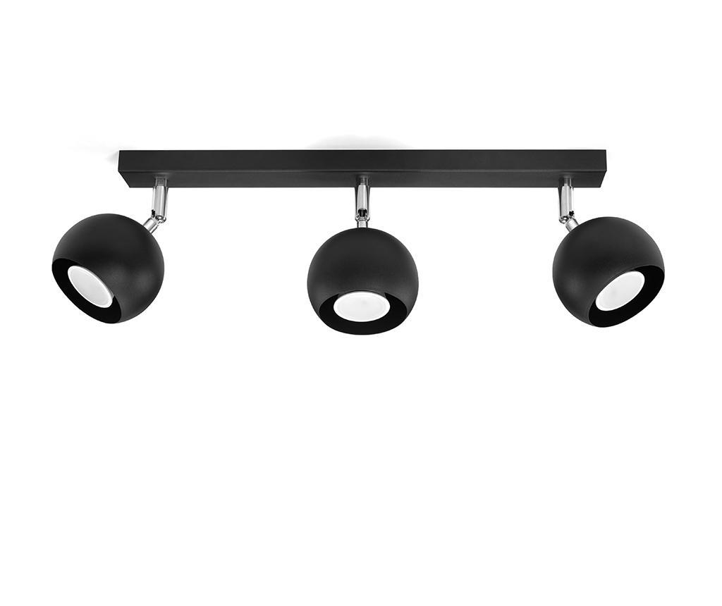 Lustra Ollo Black Three - Nice Lamps, Negru imagine