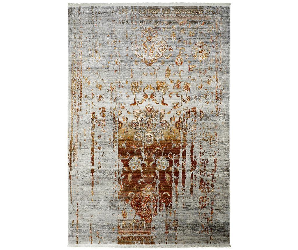 Covor My Laos Terra 120x170 cm - Obsession, Gri & Argintiu