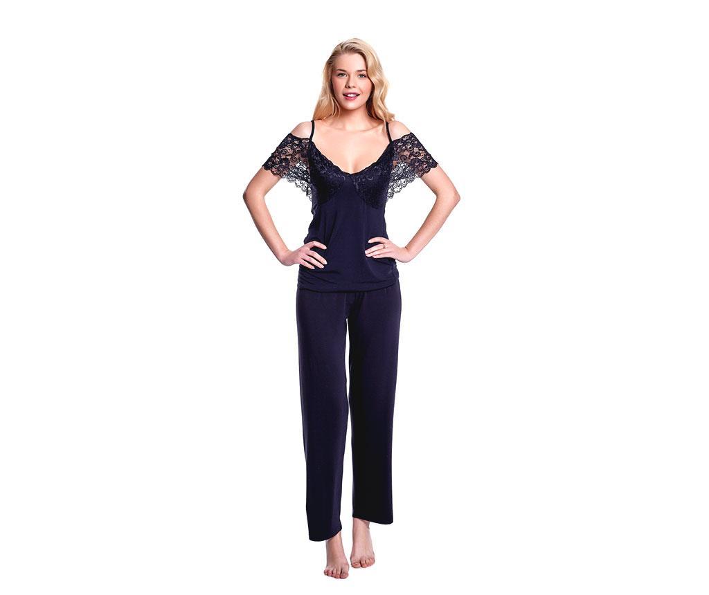 Pijama Dama Ella Black Xl