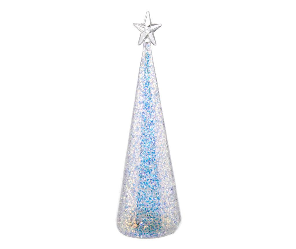 Decoratiune luminoasa Arcobaleno Star - Bizzotto, Gri & Argintiu