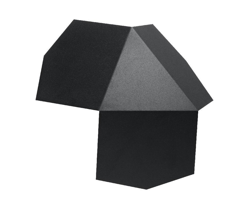 Aplica de perete Hiru Black - Nice Lamps, Negru