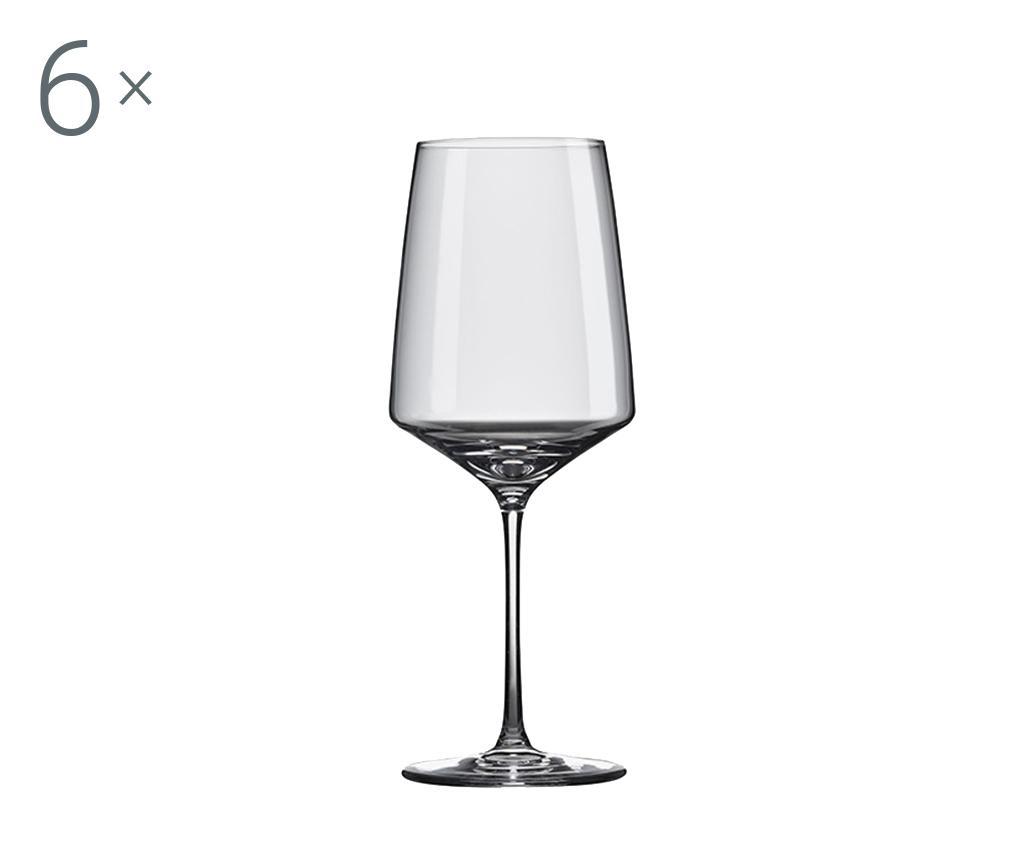 Set 6 pahare pentru vin Rona Vista 650 ml imagine