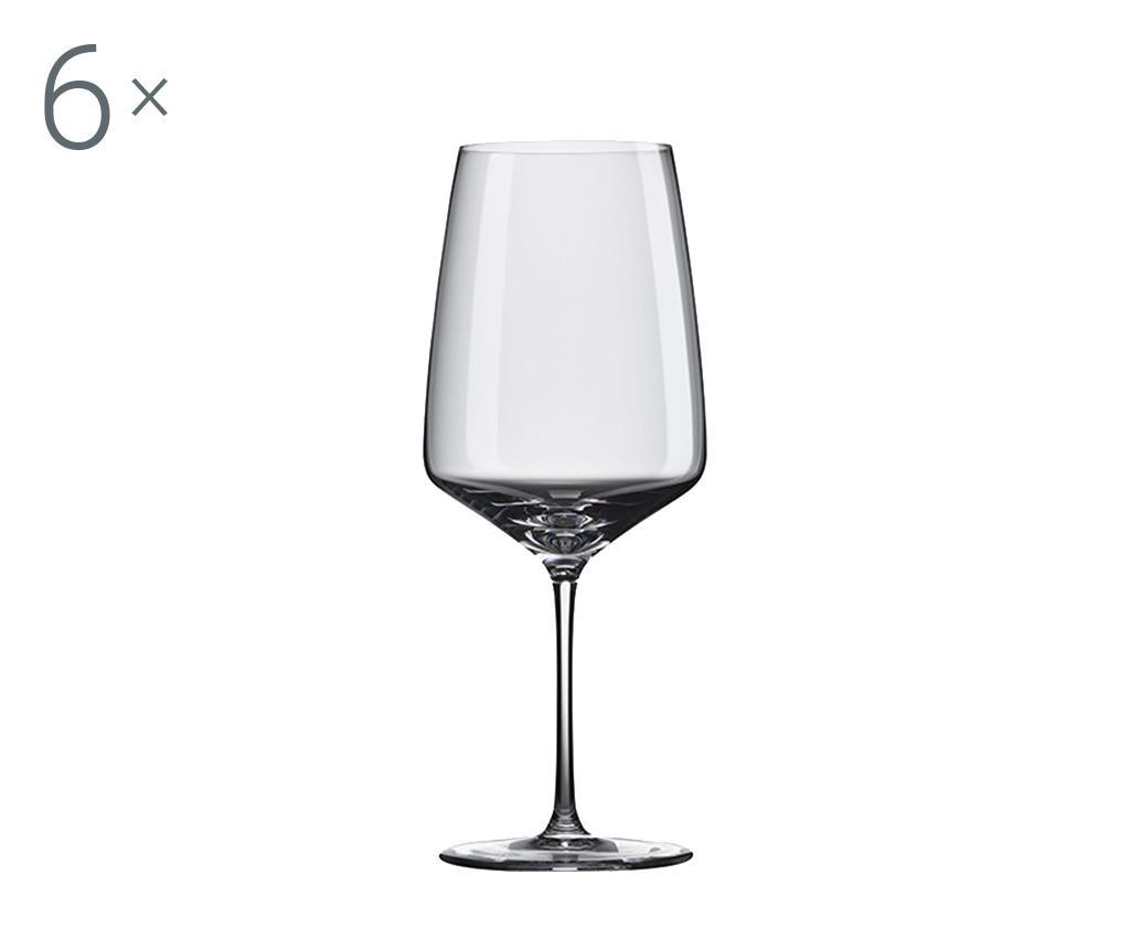 Set 6 pahare pentru vin Rona Vista 810 ml imagine