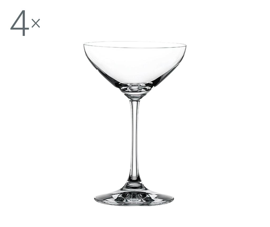 Set 4 pahare pentru cocktail Spiegelau Bonus 250 ml imagine
