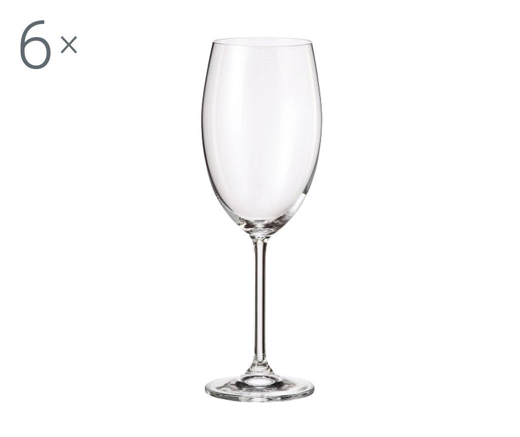 Set 6 pahare pentru vin rosu Royal Anne 610 ml