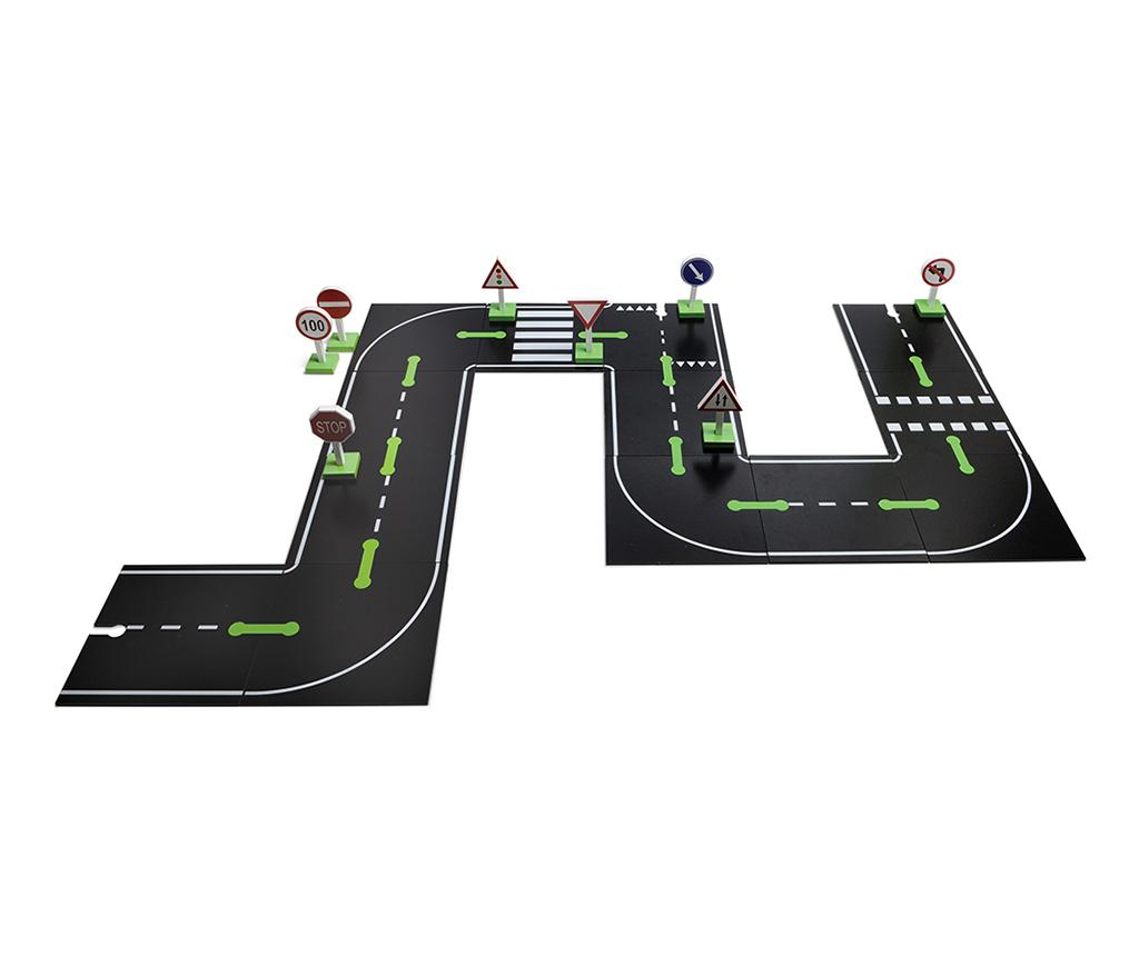 Joc tip puzzle 26 piese Road and Cars