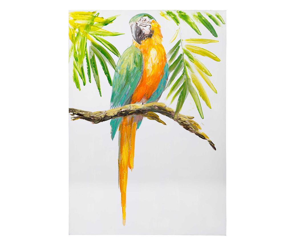 Tablou Parrot 70x100 cm imagine