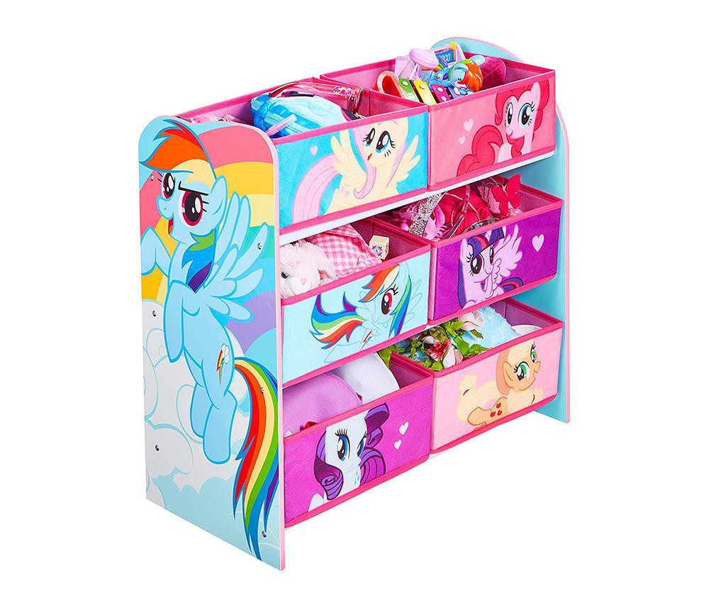 Etajera cu 6 cosuri My Little Pony - 5c126f4e1790c6 - Etajera cu 6 cosuri My Little Pony