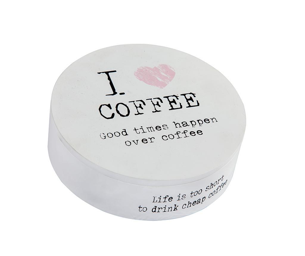 Cutie cu capac I Love Coffee