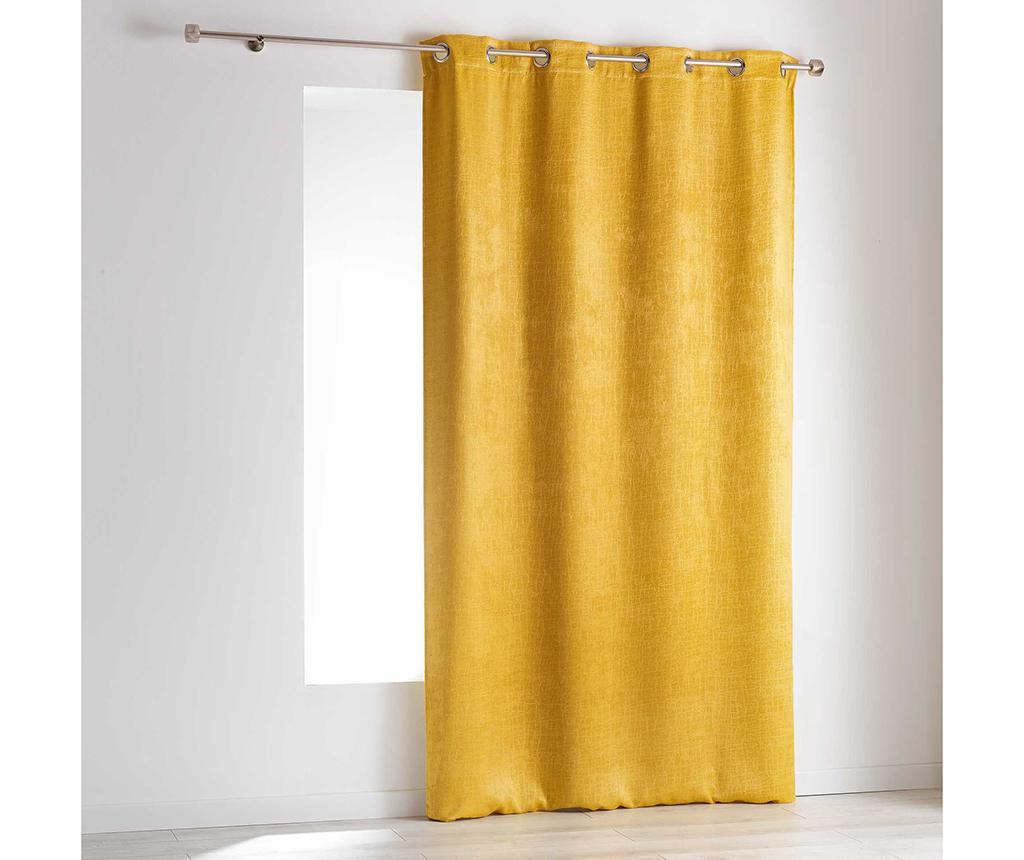 Draperie Opacia Yellow 140x240 cm - L3C, Galben & Auriu poza