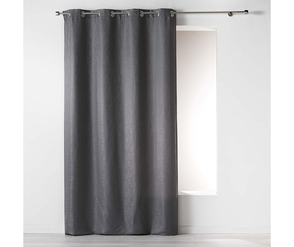 Draperie Riad Anthracite 140x260 cm imagine
