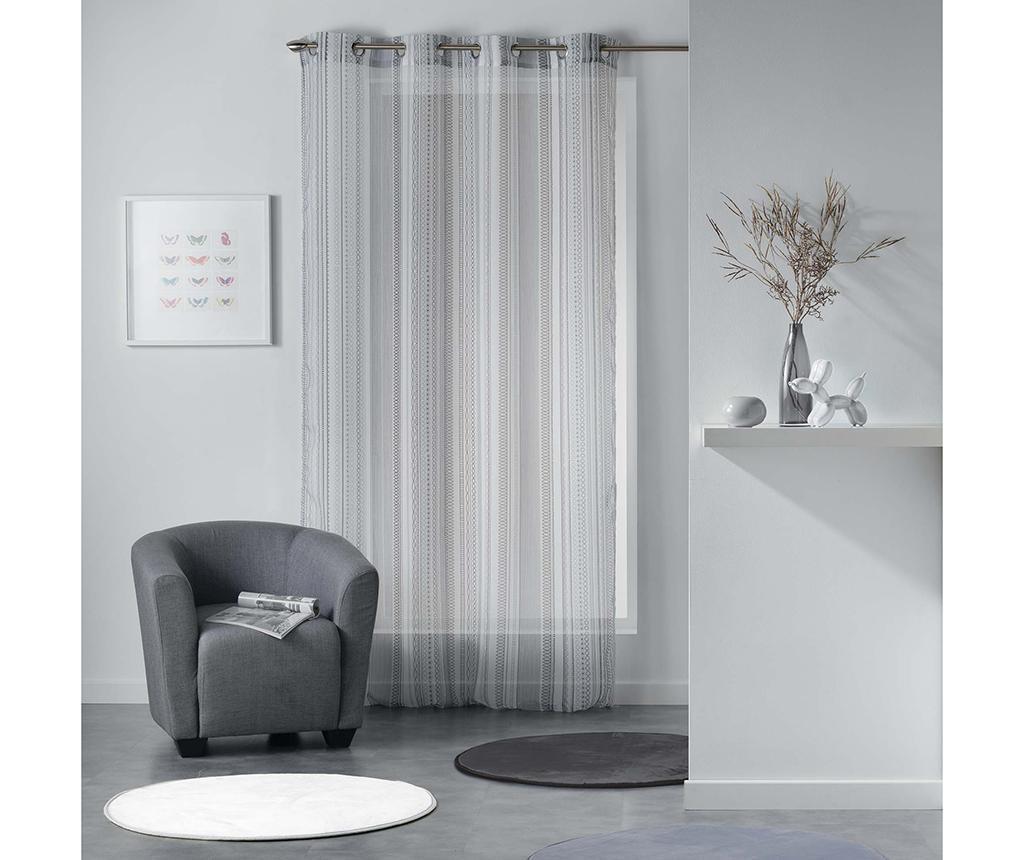Perdea Analea Black And White 140x240 cm