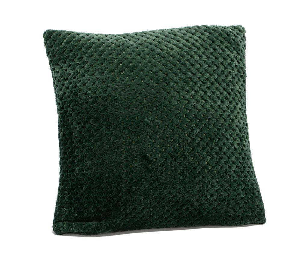 Perna decorativa Damier Green 40x40 cm - Amadeus, Verde imagine