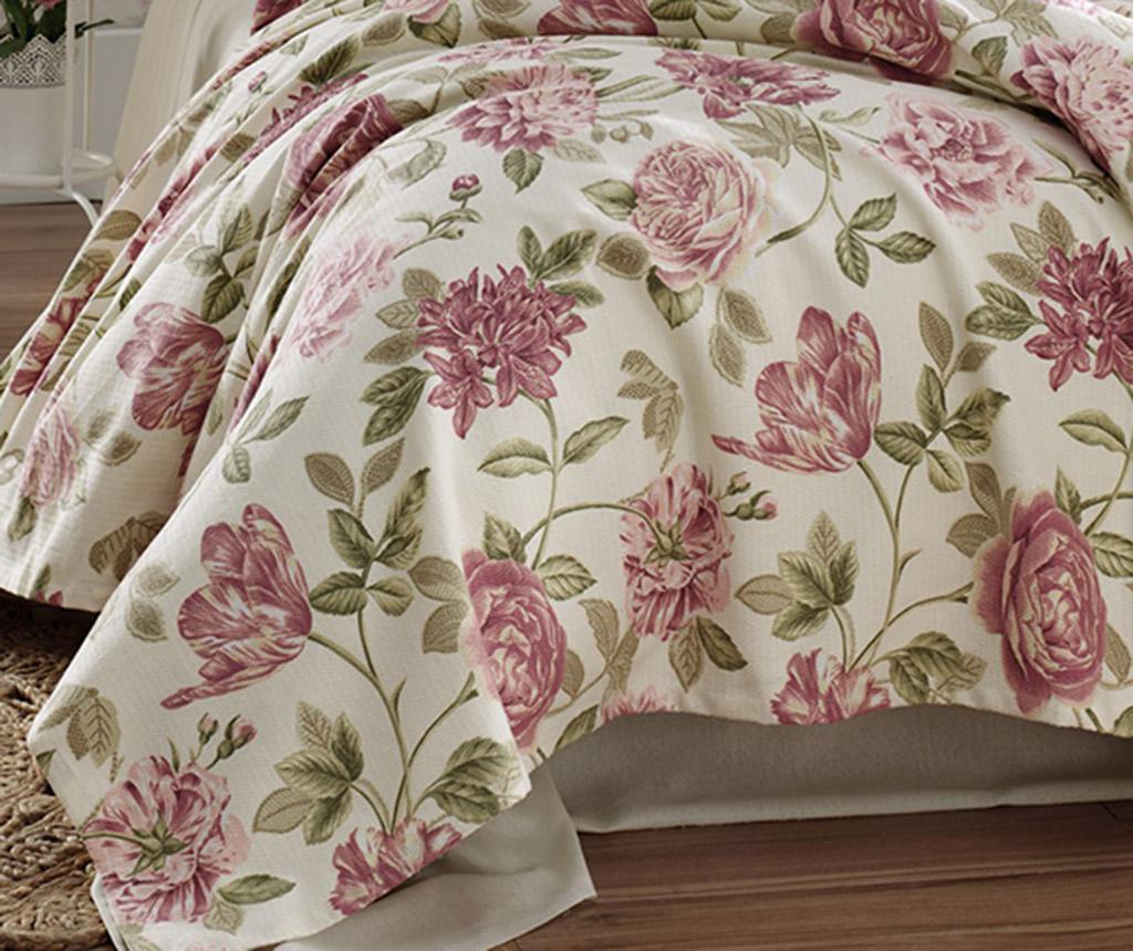 Cuvertura Pique Care Pink 200x235 cm - EnLora Home, Roz imagine