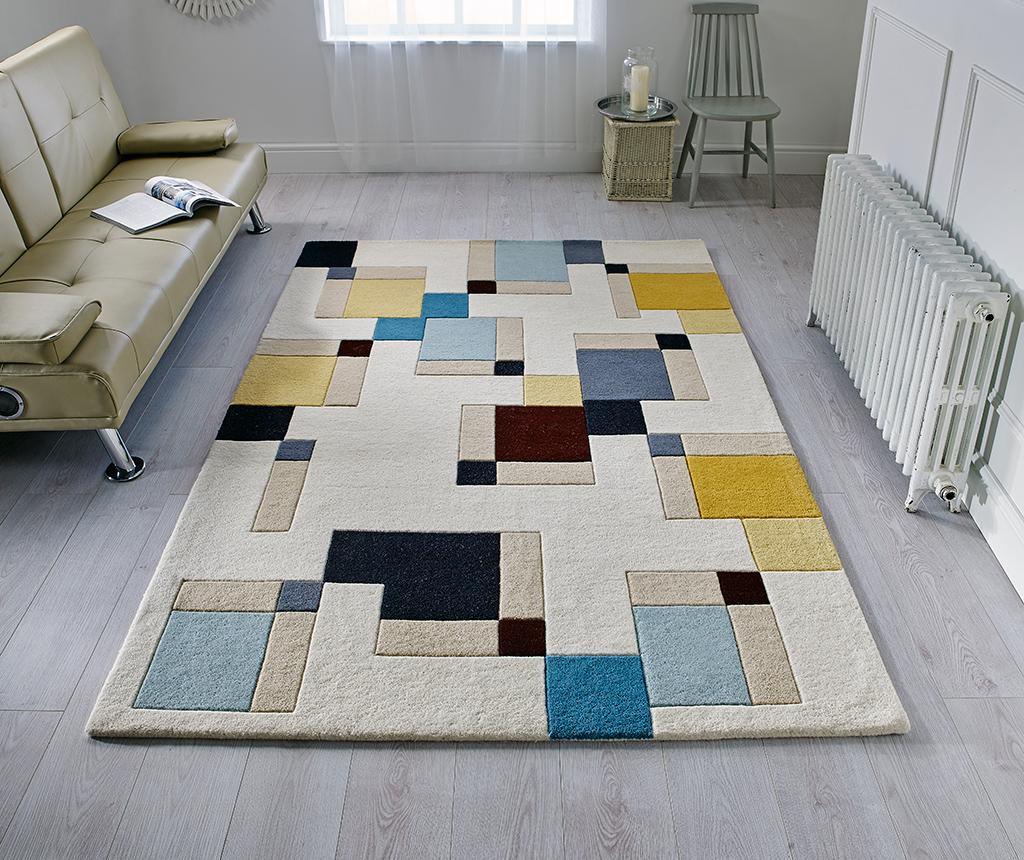Covor Abstract Blocks 80x150 cm