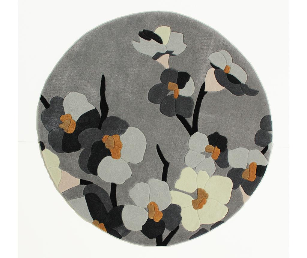 Covor Blosson Grey 135 cm vivre.ro