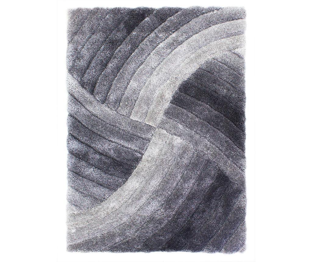 Covor Furrow Grey 80x150 cm vivre.ro