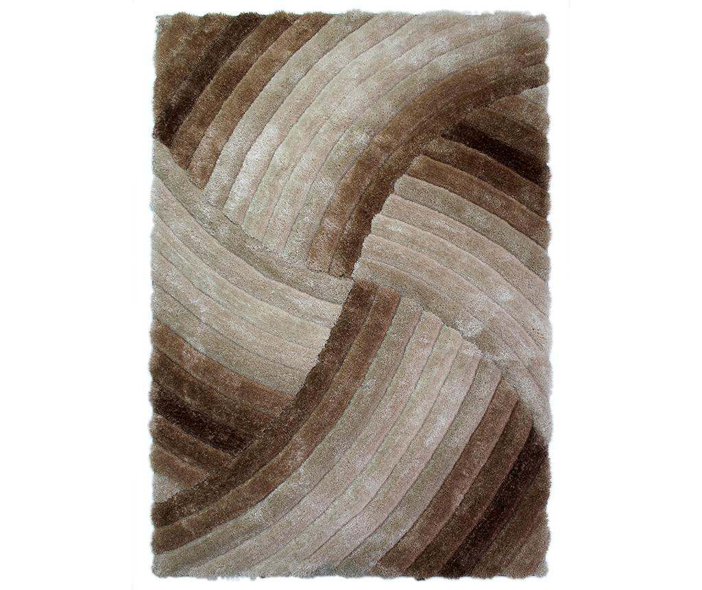 Covor Furrow Natural 80x150 cm - Flair Rugs, Maro poza