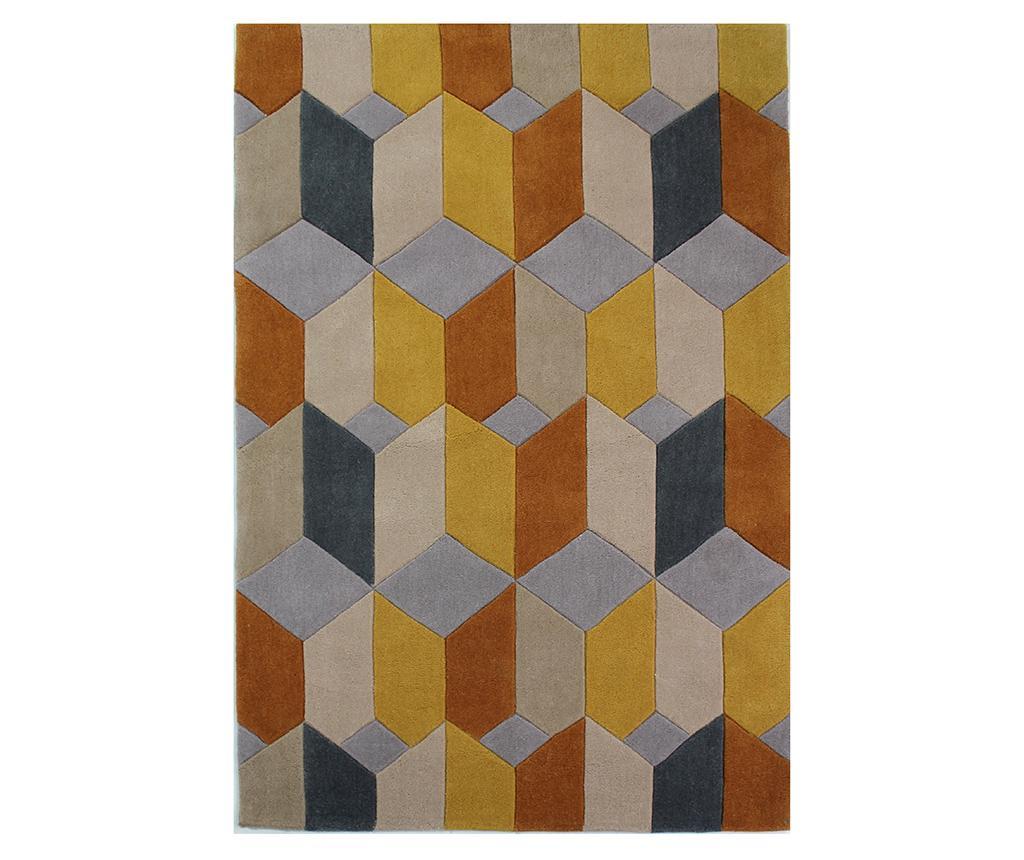 Covor Scope Ochre 120x170 cm - Flair Rugs, Galben & Auriu poza
