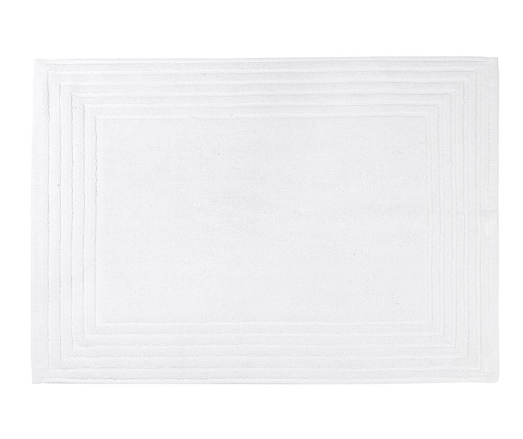 Covoras de baie Alfa White 50x70 cm