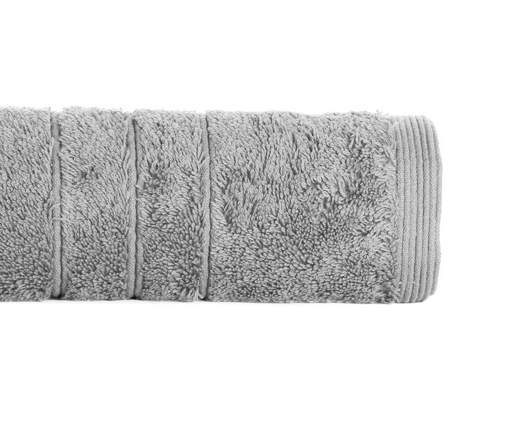 Prosop de baie Omega Pearl 50x100 cm - ABECE, Gri & Argintiu