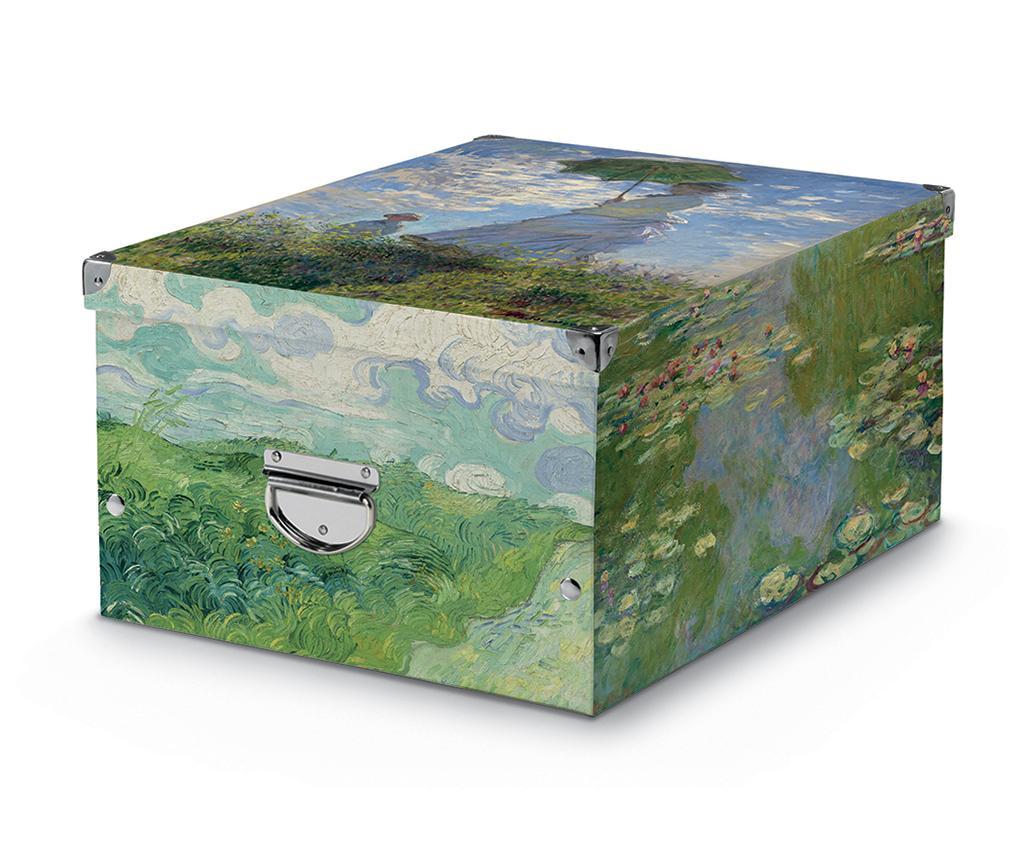 Cutie cu capac pentru depozitare Graham - Cosatto, Verde imagine