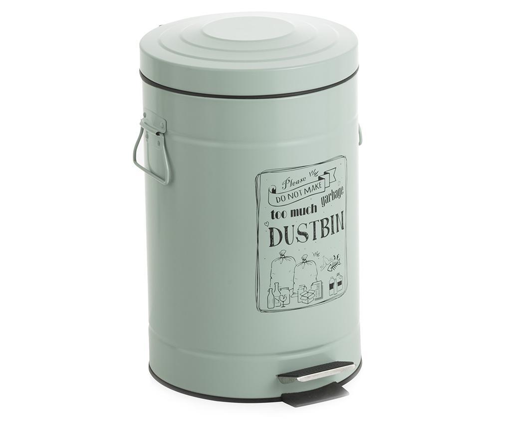 Cos de gunoi cu capac si pedala Dustbin 12 L imagine