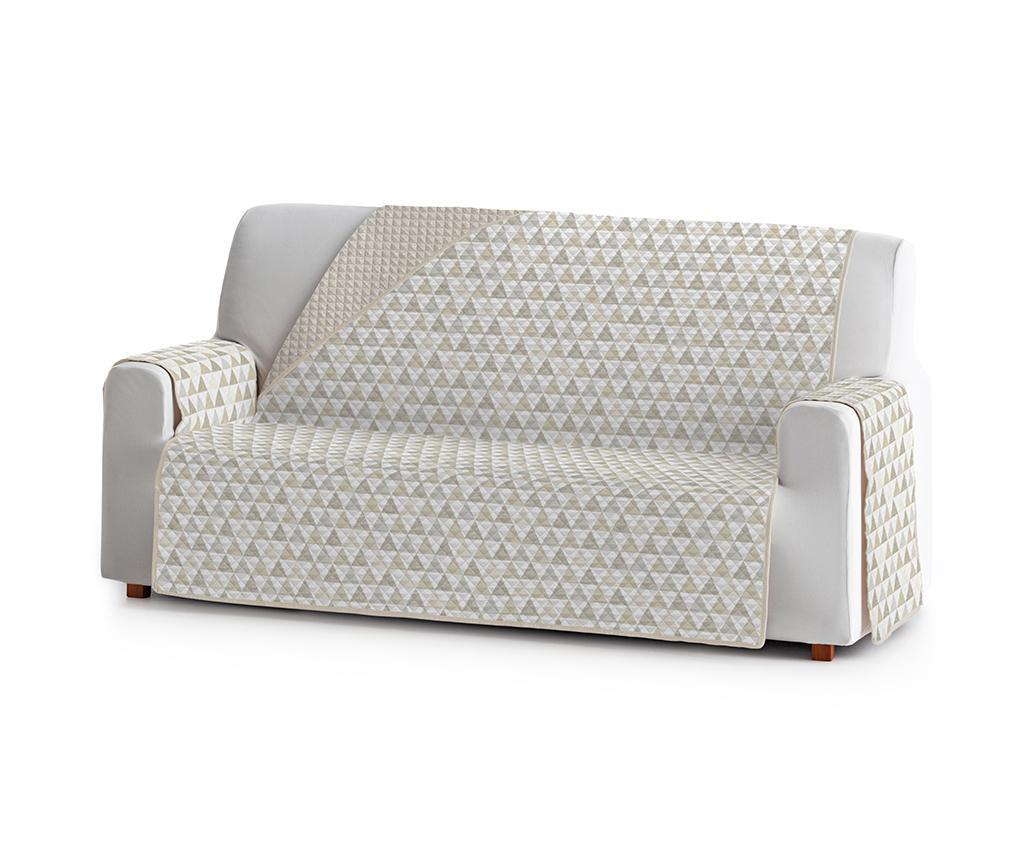 Husa pentru canapea Nordic Beige 190 cm - Eysa, Crem imagine