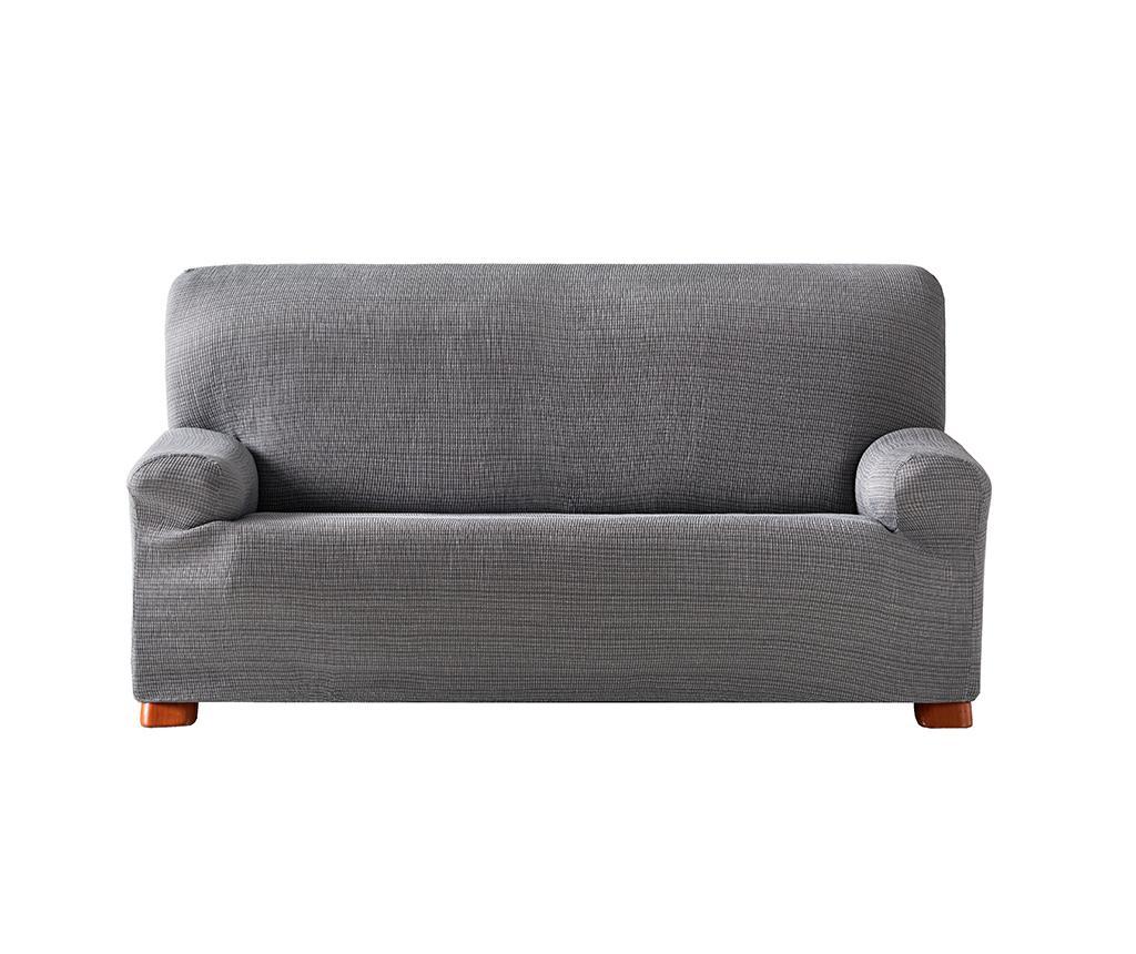 Husa elastica pentru canapea Aquiles Grey 140-170 cm - Eysa, Gri & Argintiu imagine