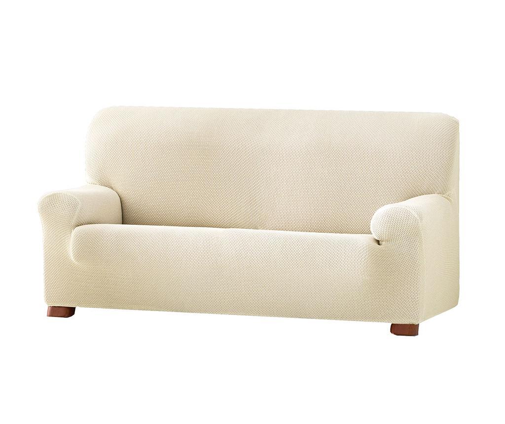 Husa elastica pentru canapea Cora Ecru 210-240 cm vivre.ro